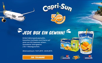 Capri Sonne Gewinnspiel Code