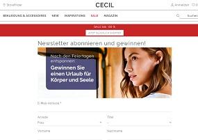 Cecil Magic Box Gewinnspiel, Cecil Gewinnspiel