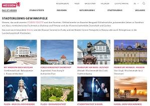 Hessen Reise Gewinnspiel, Hessen Tourismus Gewinnspiel