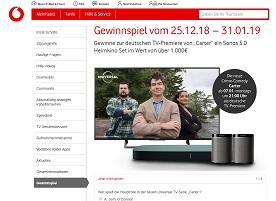 Sonos Heimkino-Set Gewinnspiel, Kabel Deutschland Gewinnspiel