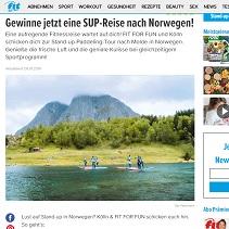 Norwegen Reise Gewinnspiel, fit For Fun Gewinnspiel