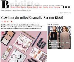 Kiss Beauty-Paket Gewinnspiel, Brigitte Gewinnspiel