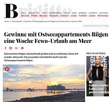 Rügen Urlaub Gewinnspiel, Brigitte Gewinnspiel
