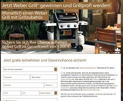 Weber Gasgrill Gewinnspiel, Burda Weber Grill Gewinnspiel