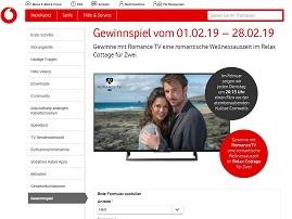 Relax Cottage Gewinnspiel, Kabel Deutschland Gewinnspiel