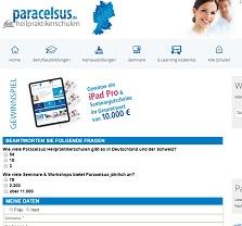 iPad Pro Gewinnspiel, Paracelsus Gewinnspiel