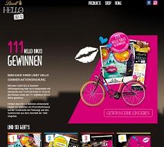 lindt hello bikes gewinnspiel