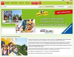Ravensburger Spieleland Gewinnspiel, Ravensburger Gewinnspiel