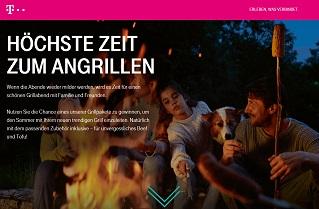 Telekom Angrillen Gewinnspiel, Telekom Gewinnspiel