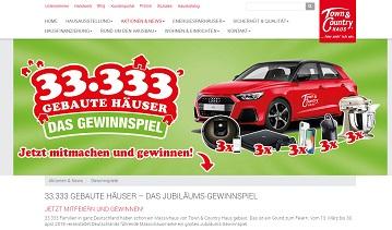 Audi A1 Gewinnspiel, Town Country Haus Gewinnspiel