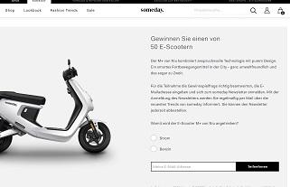 Niu E-Scooter Gewinnspiel, someday Gewinnspiel