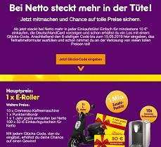 Netto-Online/Volltreffer Code Eingeben