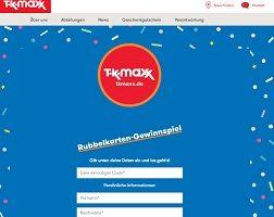 TK Maxx Archive Gewinnspiele 2020